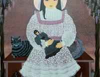 Patricia Barton Signed Artist's Proof Print of a Little Girl With Doll (4 of 12)