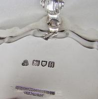 "Superb Edwardian 10"" Silver Salver by Ackroyd Rhodes, London 1908 (6 of 8)"