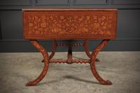 Dutch Marquetry Walnut Sofa Table (9 of 14)