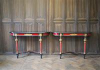 Painted French Console Tables (7 of 7)
