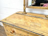 Antique Painted Pine Dressing Chest (4 of 13)
