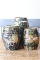 Scottish Pottery Slipware Barrel Storage Jars x4 (33 of 35)