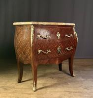 French Stamped Louis XV Kingwood Bombe Commode (10 of 13)