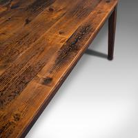 Antique Farmhouse Table, English, Pine, Country Kitchen, Dining, Victorian, 1900 (9 of 10)