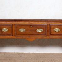 Georgian Oak Dresser Base Sideboard Mahogany George III (11 of 14)