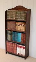Oak Open Bookcase c.1920 (5 of 11)