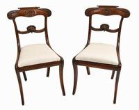 Set of 6 Regency Dining Chairs Rosewood c.1811 (2 of 8)