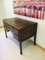 Wonderful George III Oak Sideboard Server / Buffet with Rare Cellaret Drawer c.1760-1820 (2 of 12)
