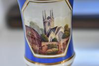 Fine Minton Pedestal vase with delightful painted panel c1815 (8 of 8)