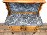Antique Washstand with Marble Top (3 of 10)