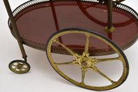 1960's Vintage French Brass Drinks Trolley (13 of 13)
