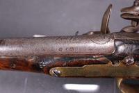 Pair of mid 18th Century Continental Flintlock Holster Pistols (5 of 7)