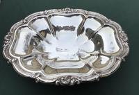 Heavy Large Georgian Silver Plate on Copper  Comport (7 of 7)