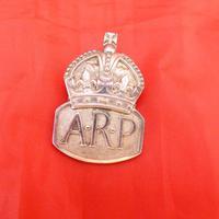 WW2 Arp Silver Hallmarked Lapel Badge (2 of 4)