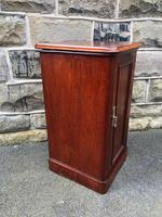 Antique Mahogany Bedside Cabinet (5 of 10)