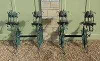 Antique Spanish Style Wrought Iron Wall Scones Set of Four (5 of 8)