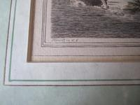 """Late 18th Century Etching """"Duck Shooting"""" by Samuel Howitt (4 of 6)"""
