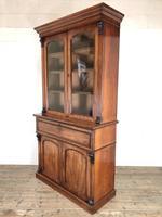Victorian Mahogany Secretaire Bookcase (9 of 12)