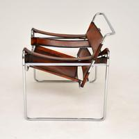 1960's Vintage Wassily Armchair by Marcel Breuer for Gavina (4 of 9)