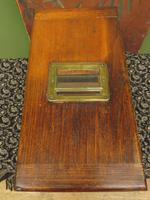 Antique Wooden Shop Till with Pull-out Drawer & Bell (2 of 14)