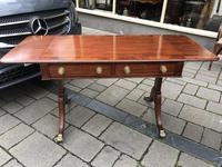 Mahogany Inlaid Sofa Table (3 of 11)