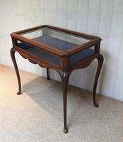 Edwardian Mahogany Bijouterie Table (10 of 10)