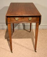 George III Mahogany Pembroke Table Drawer (4 of 6)