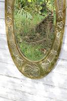 Arts & Crafts Movement Scottish / Glasgow School Large Oval Wall Mirror c.1900 (15 of 28)