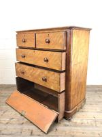 Antique Victorian Mahogany Chest of Drawers (7 of 10)
