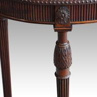 Edwardian Mahogany Oval Occasional Table (2 of 7)