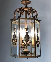 Antique French Gilt Bronze Lantern (8 of 13)