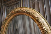 Pair of Gilt French Oval Mirrors (4 of 7)