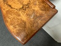 Stylish Burr Walnut Queen Anne Dressing Table (4 of 14)