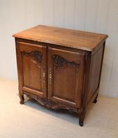 Vintage French Oak Side Cabinet (2 of 8)