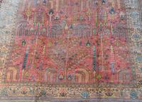 Antique Ushak Carpet 395x328cm (11 of 12)