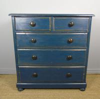 Charming Victorian Painted Chest of Drawers 19th Century (3 of 6)