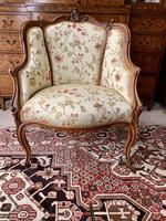French Walnut Tub Chair (2 of 15)