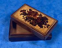 Rosewood & Mosaic Tunbridge Ware Box (6 of 12)