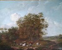 E Van Drielst, A 19th Century Oil on Panel Landscape (2 of 6)