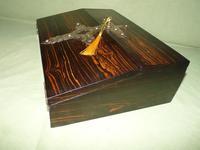 Quality Betjemann Coromandel Writing Box c.1870 (12 of 15)