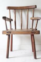 19th Century Irish 'Country / Vernacular' Hedge Chair from Co. Antrim (3 of 45)