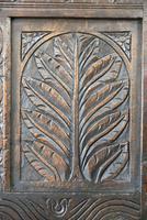 Antique Carved Oak Bench (9 of 12)