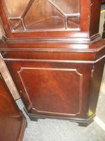 Mahogany Corner Cabinet (3 of 3)