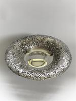 A Gorgeous Victorian Pierced Silver Dish (6 of 7)