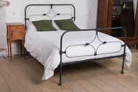 Attractive All Iron Irish Cottage Style Bed (2 of 9)