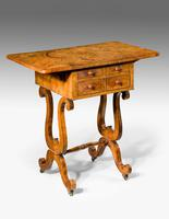 Regency Period Amboyna Work Table (6 of 8)