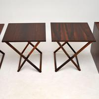 Vintage Danish Rosewood Illums Bolighus Nesting Tables (7 of 16)