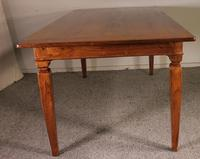 19th Century Farmhouse Table in Cherry Wood - France (4 of 6)