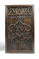 Pair of 16th Century Gothic Oak Panels (3 of 4)