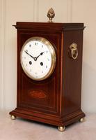 Mahogany Inlaid Mantel Clock (8 of 10)